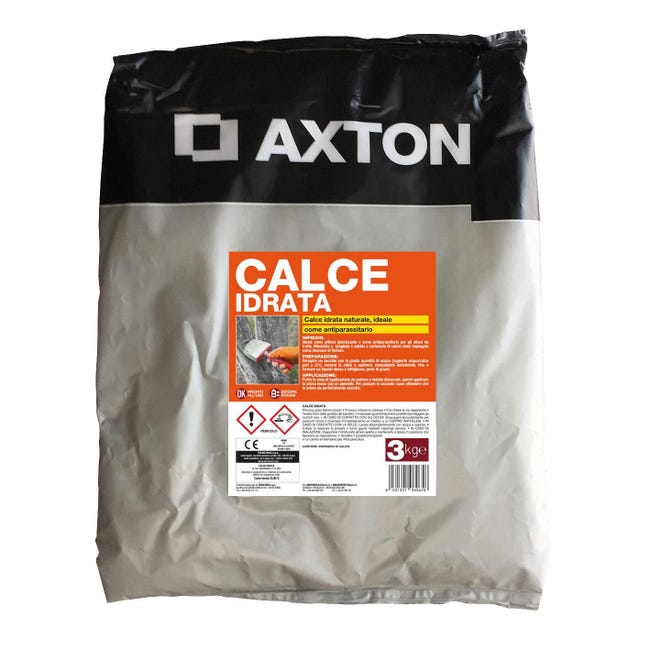 Calce idrata AXTON 3 kg - 1