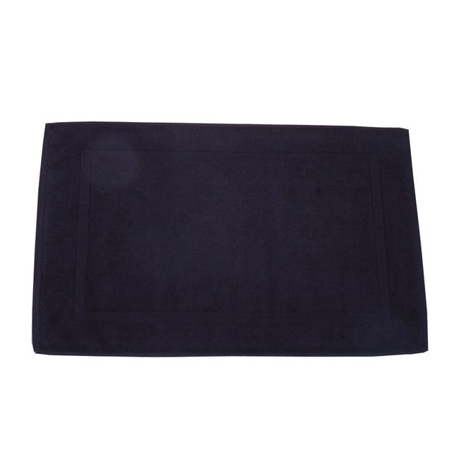Scendidoccia rettangolare Eponge in cotone nero 50 x 80 cm - 1
