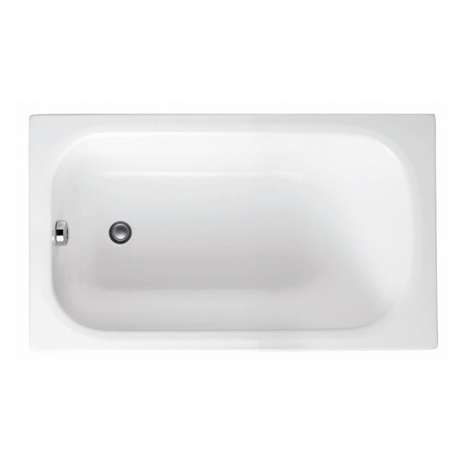 Vasca Rettangolare Mini Bianco 70 X 120 Cm Leroy Merlin