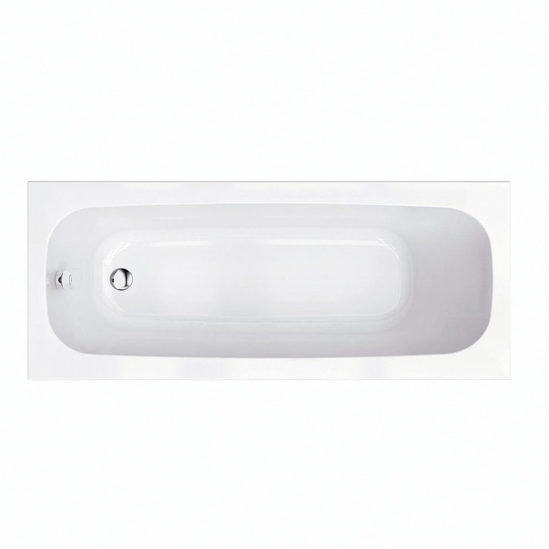Vasca rettangolare Tag bianco 70 x 170 cm - 1