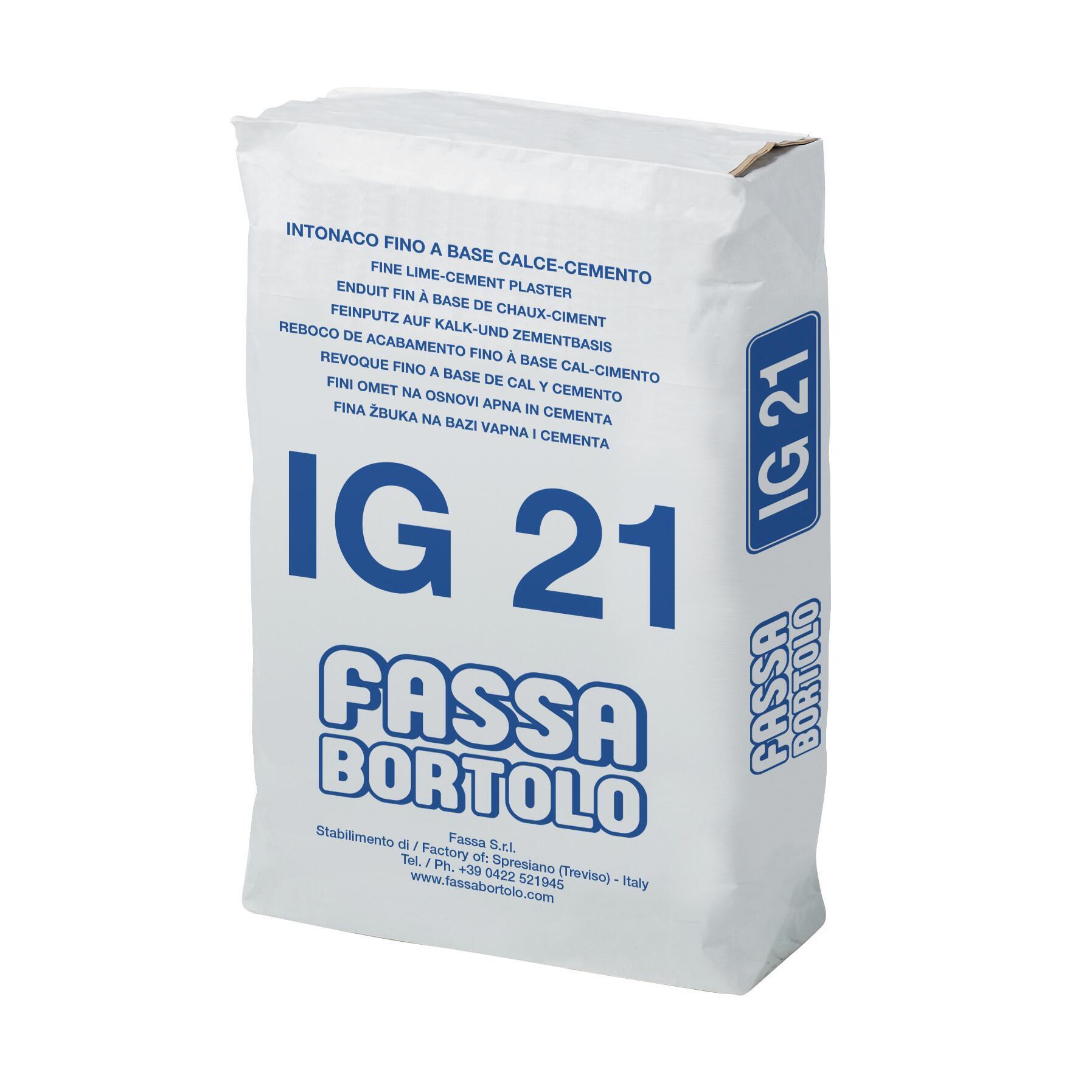 Intonaco FASSA BORTOLO IG21 25 kg