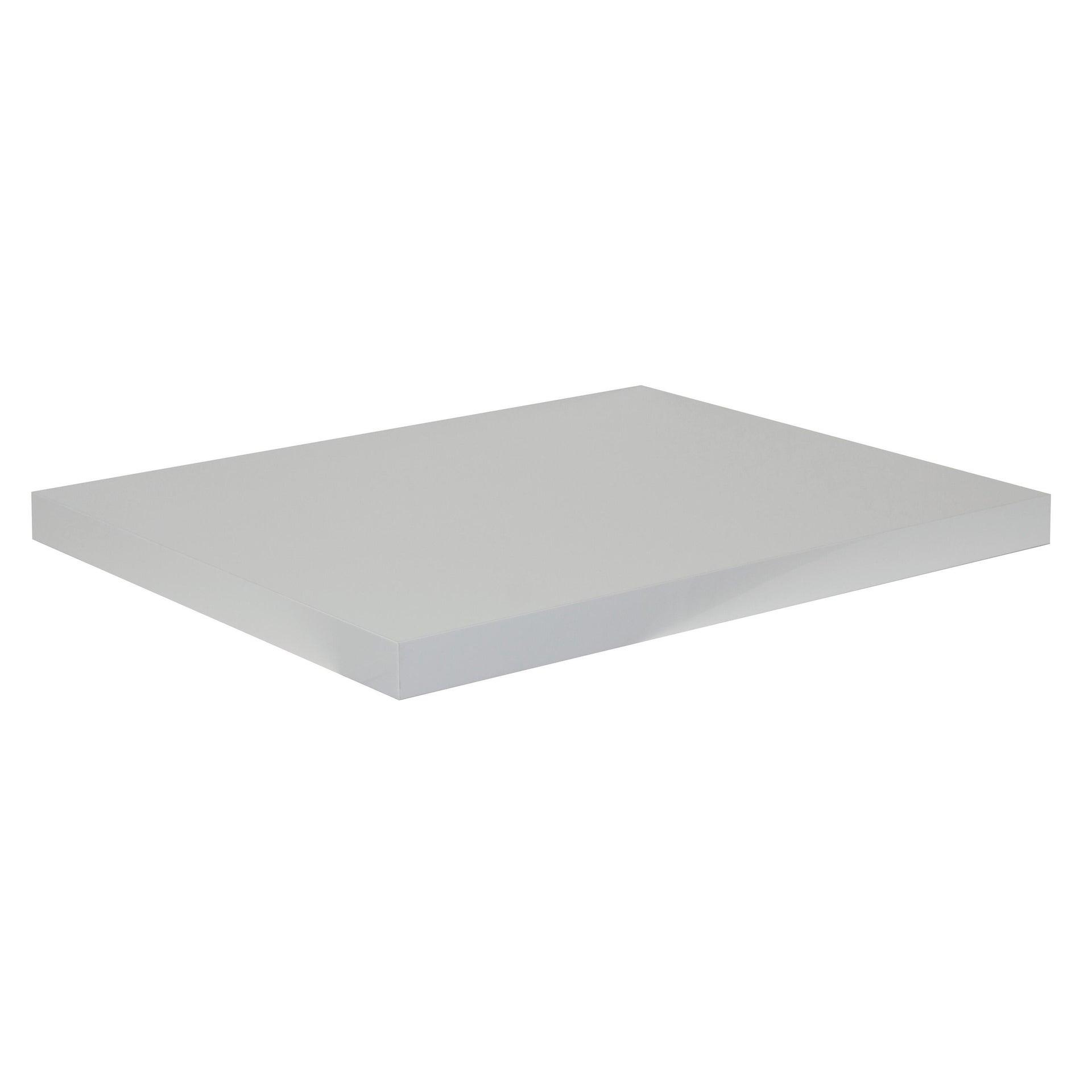 Top per lavabo SENSEA Remix L 90 x P 49 x H 3.8 cm lucido - 2