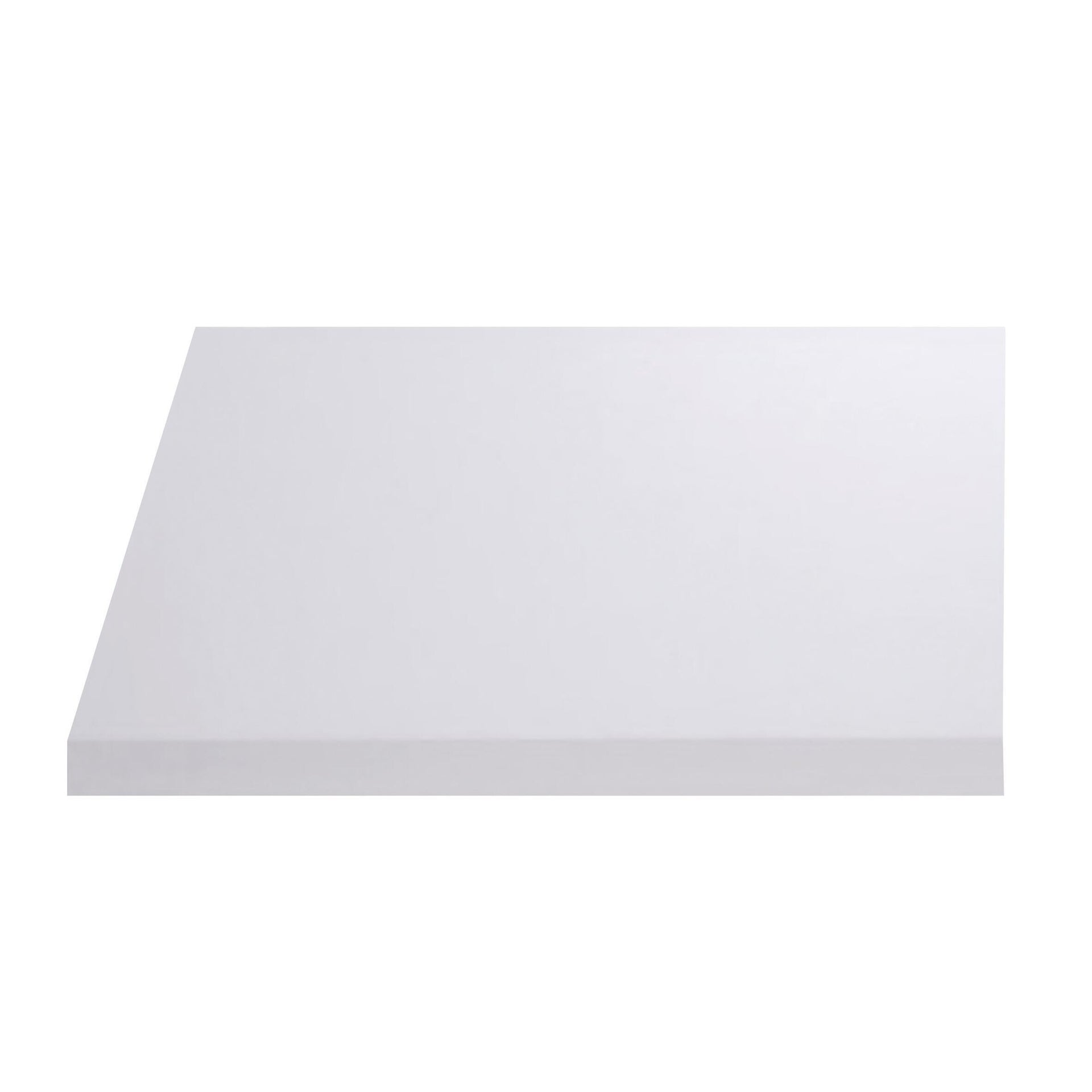Top per lavabo SENSEA Remix L 90 x P 49 x H 3.8 cm lucido - 1