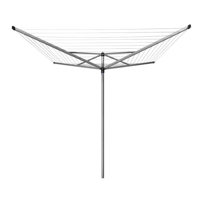 Stendibiancheria BRABANTIA in alluminio L 189 cm grigio / argento - 1