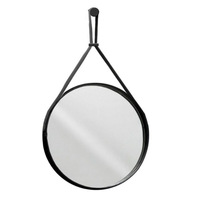 Specchio Non Luminoso Bagno Tondo Mango O 60 Cm Leroy Merlin