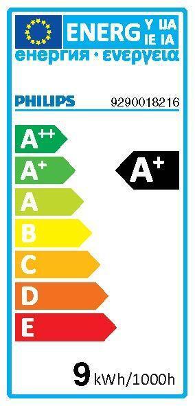 Lampadina collegato LED, HUE WHITE BLUETOOTH + TELECOMANDO, E27, Goccia, Opaco, Luce calda, 9W=806LM (equiv 60 W), 150° , PHILIPS HUE - 8