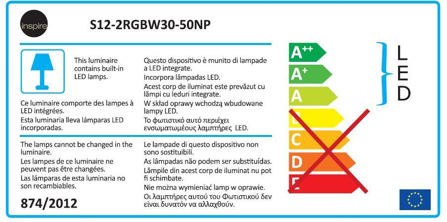 Striscia led Movaled 5m luce colore cangiante<multisep/>bianco 240LM IP20 INSPIRE - 8