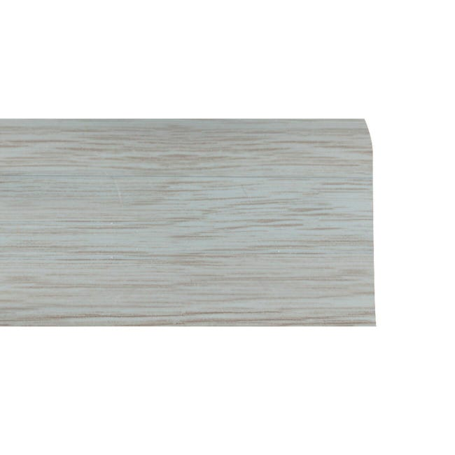 Battiscopa Multifunzione H 5.5 cm x L 2.5 m grigio chiaro - 1