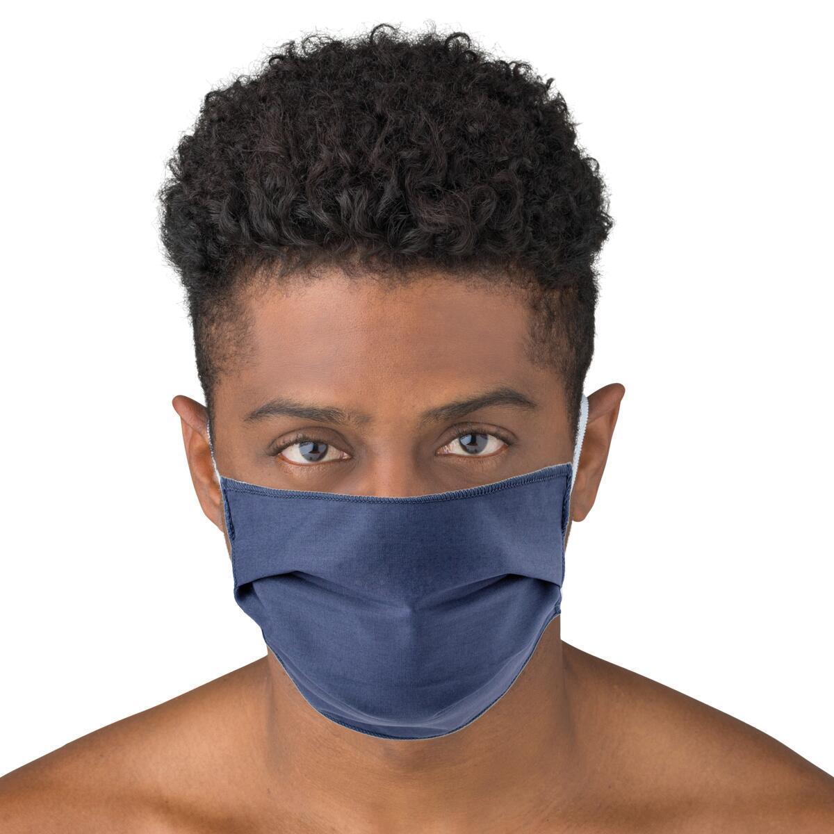 Maschera in tessuto lavabile per utilizzo non sanitario Trendy 2 pezzi - 2