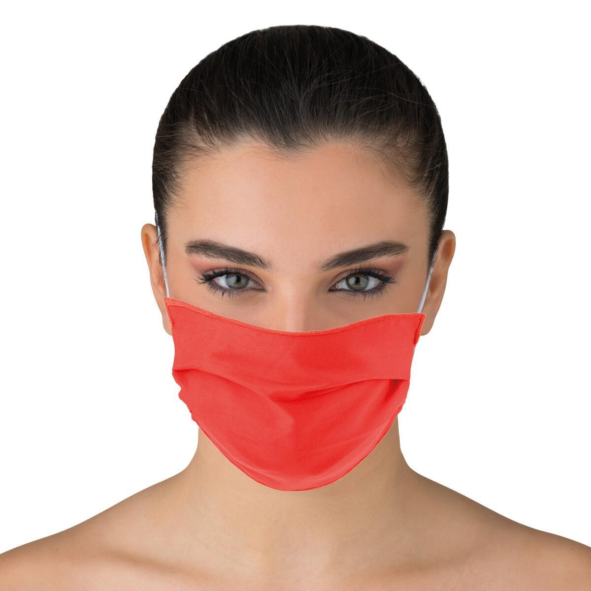 Maschera in tessuto lavabile per utilizzo non sanitario Splendente 2 pezzi - 2