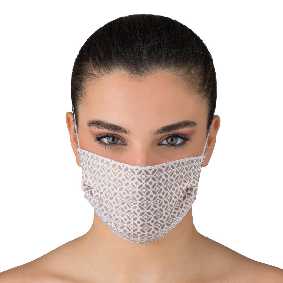 Maschera in tessuto lavabile per utilizzo non sanitario Buondì 2 pezzi - 2