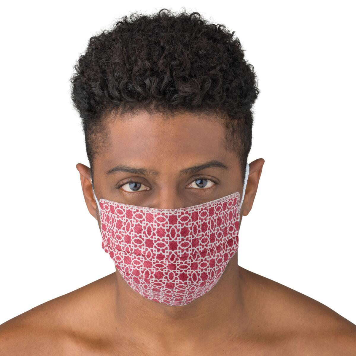 Maschera in tessuto lavabile per utilizzo non sanitario Arabo 2 pezzi - 2