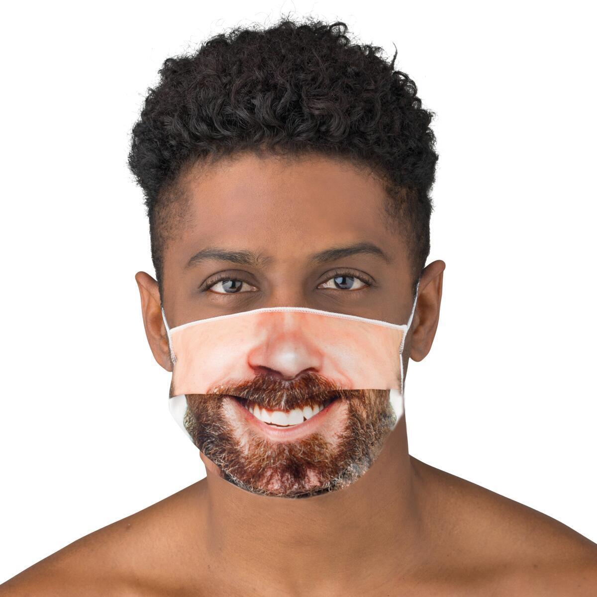 Maschera in tessuto lavabile per utilizzo non sanitario Sorriso - 2