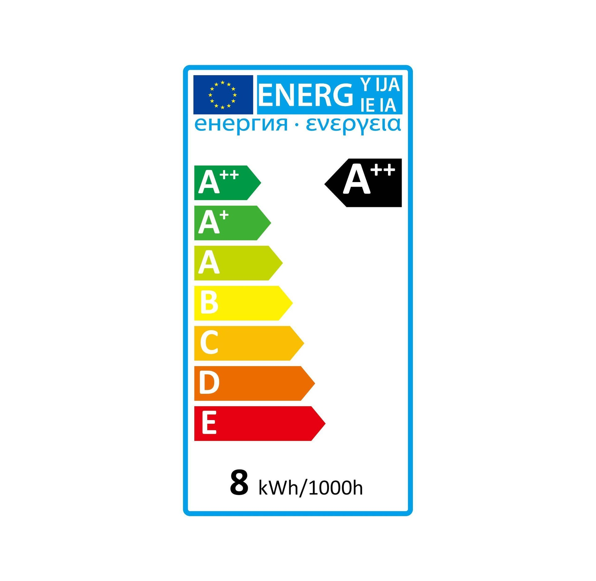Lampadina LED, E27, Goccia, Opaco, Luce fredda, 8W=1055LM (equiv 75 W), 360° , LEXMAN - 2