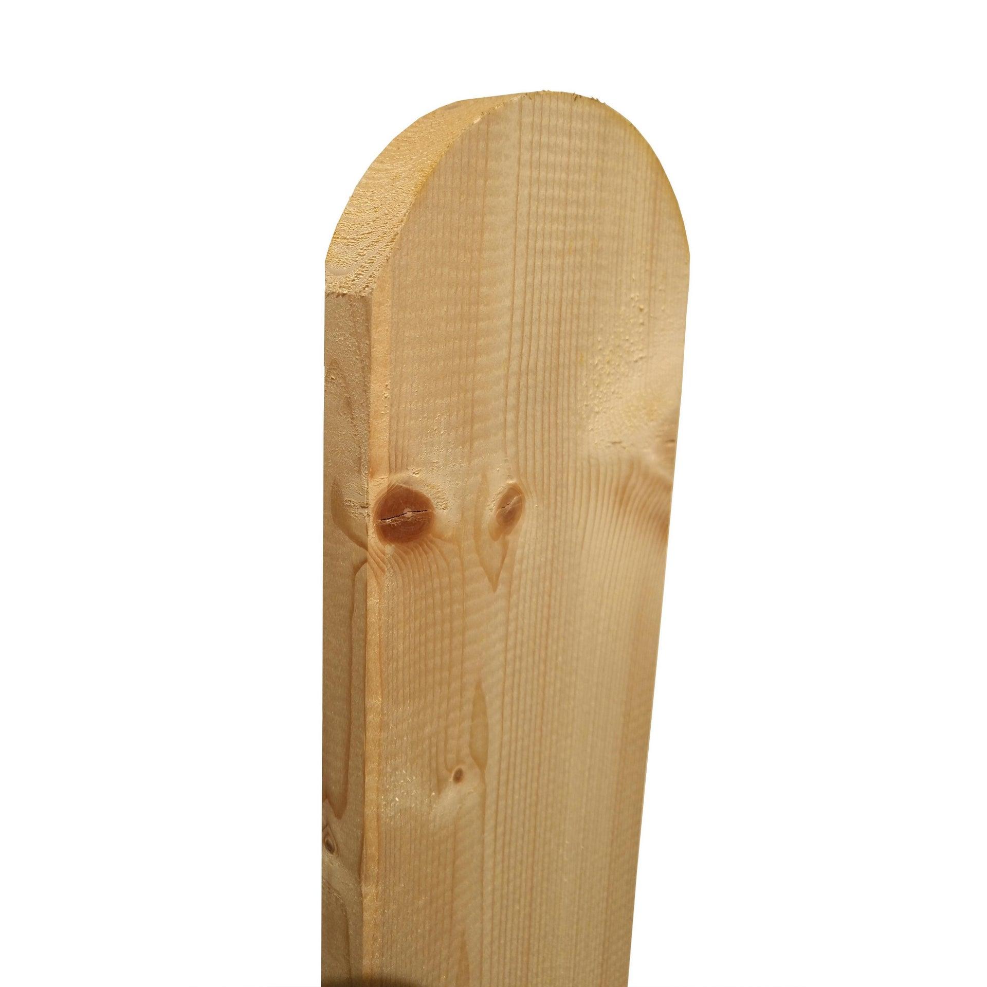 Balaustra in legno pino L 78 x H 8.9 cm - 2