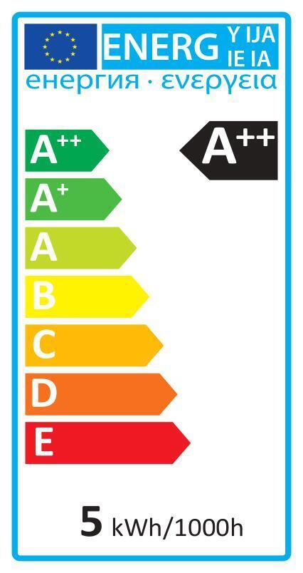 Lampadina LED, E14, Sferico, Smerigliato, Luce naturale, 5W=470LM (equiv 40 W), 220° , LEXMAN - 2