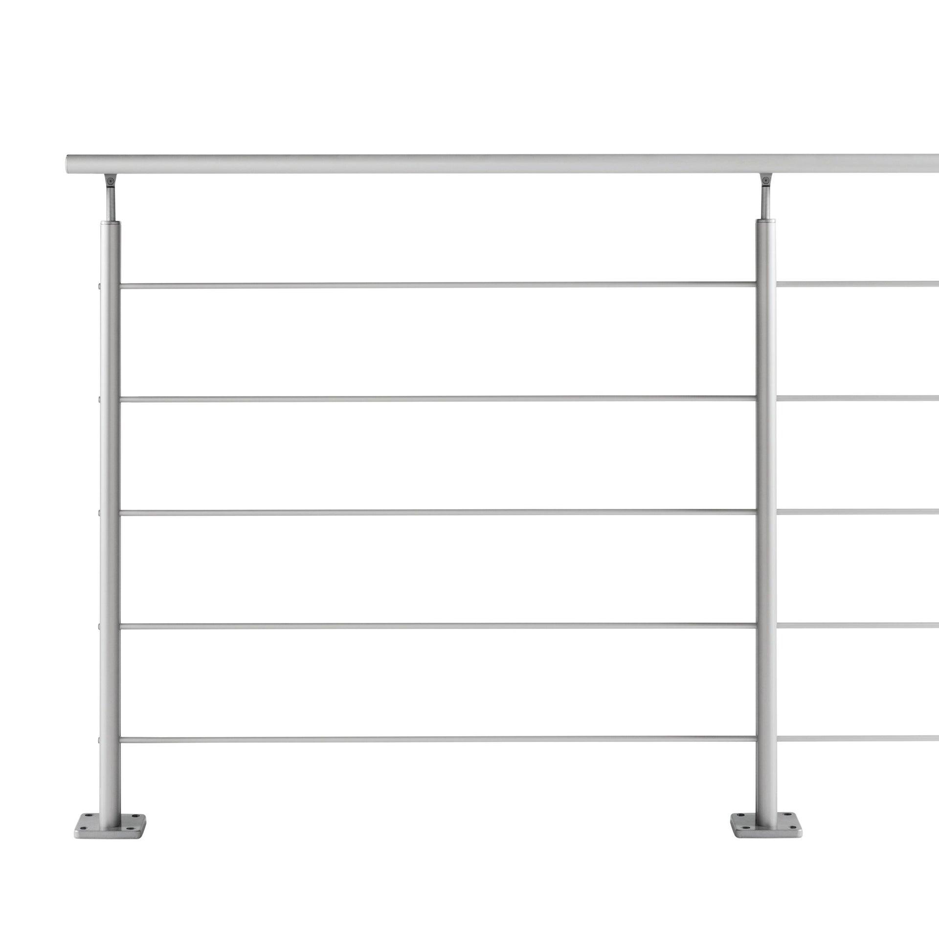 Balaustra ARTENS in alluminio L 200 x H 100 cm grigio - 1