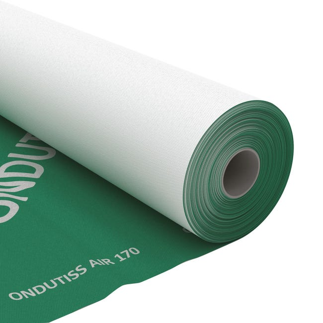 Membrana bituminosa ONDULINE Ondutiss air 170 170 g/m³ 1.5 x 50 m trasparente - 1