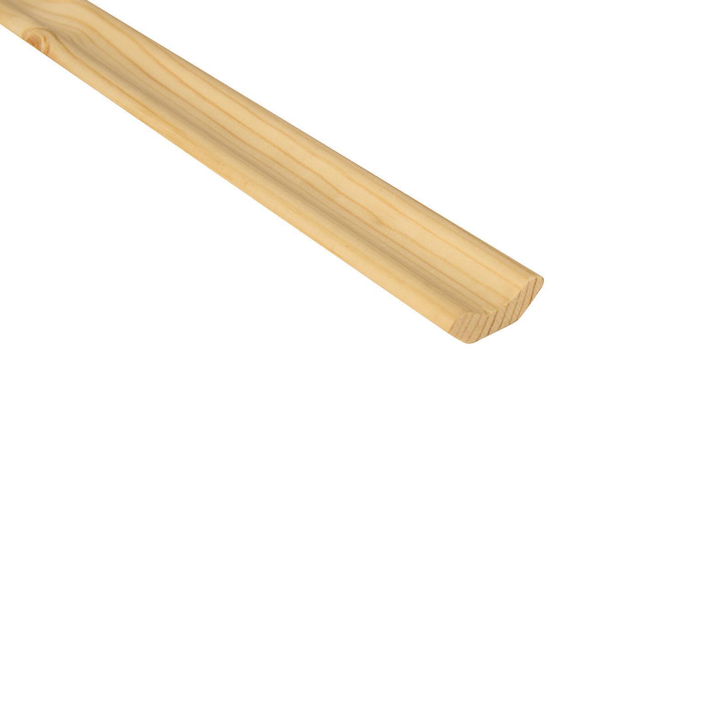 Angolare abete naturale 3 m x 34 mm, Sp 12 mm - 1
