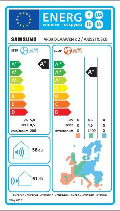 Climatizzatore multisplit SAMSUNG Windfree Elite classe A+++ - 2