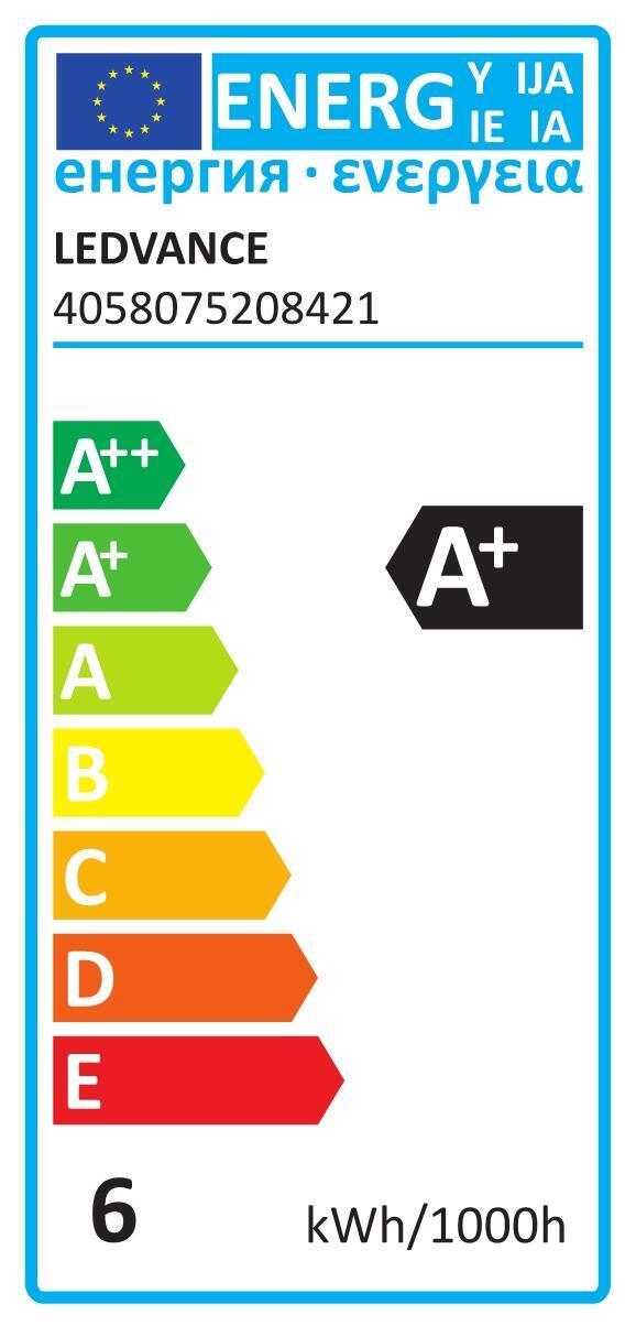 Lampadina smart lighting LED, ZIGBEE, E14, Oliva, Opaco, Luce calda, 40W=470LM (equiv 40 W), 260° , LEDVANCE - 3