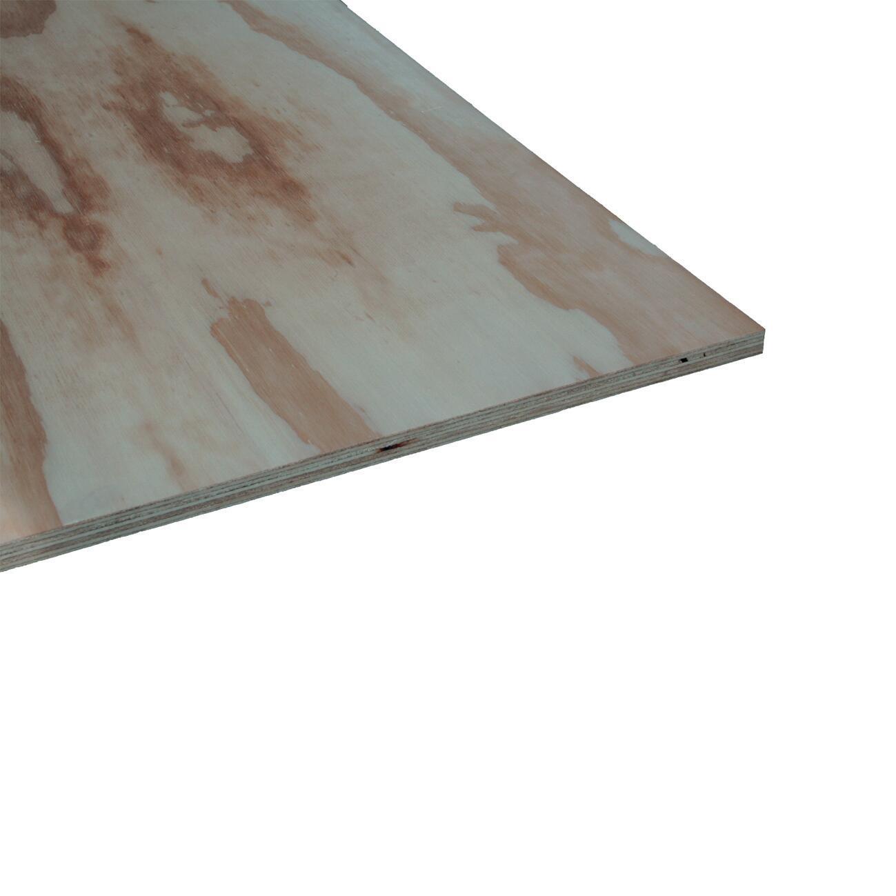 Pannello compensato pino L 244 x H 122 cm Sp 15 mm - 1