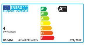 Set di 8 lampadine LED, E27, Goccia, Ambra, Luce calda, 7W=420LM (equiv 36 W), 320° , OSRAM - 3