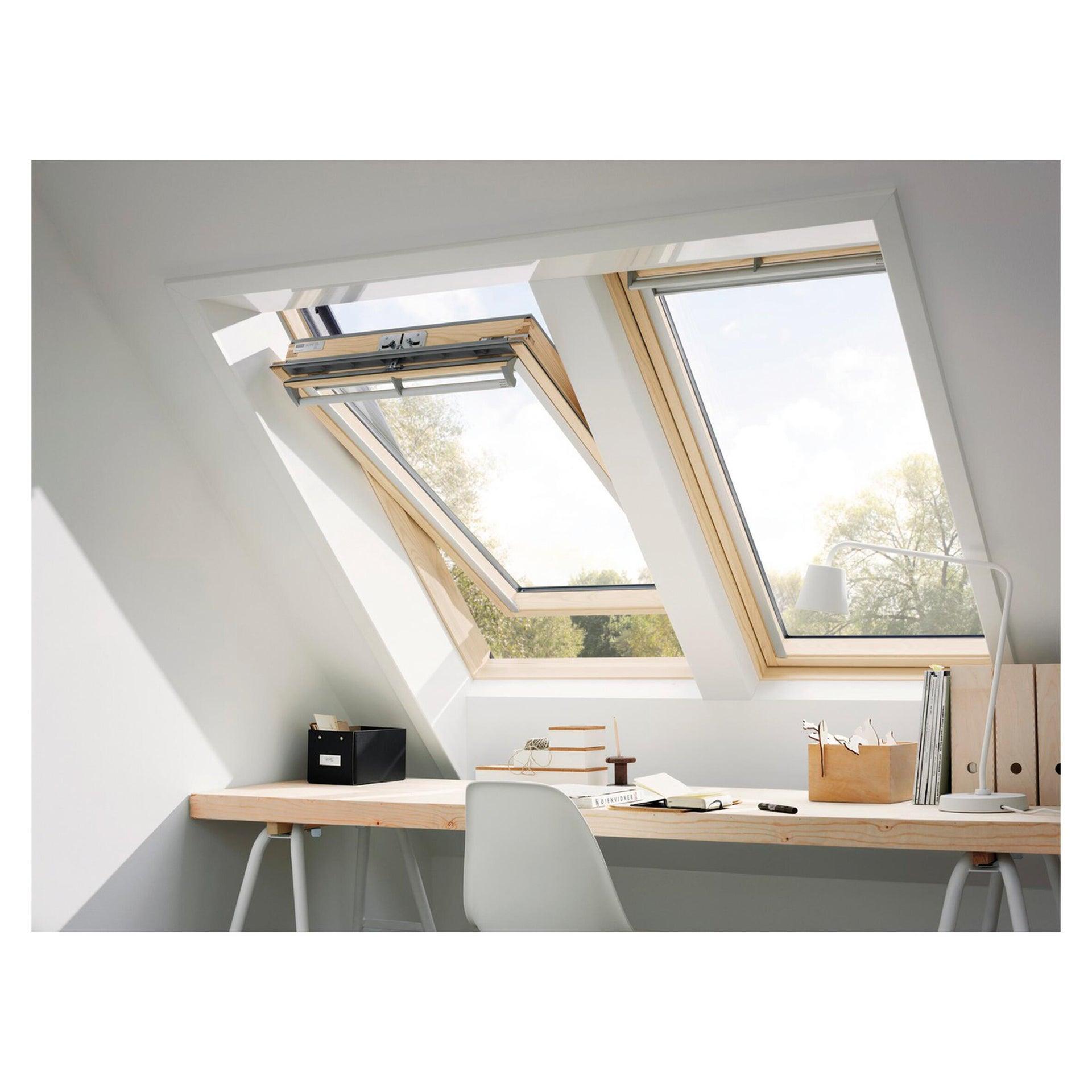Finestra da tetto (faccia inclinata) VELUX GGL BK04 3070 manuale L 47 x H 98 cm pino - 3