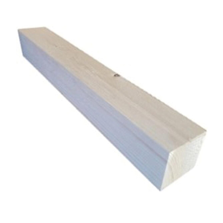 Travetto rettangolare in abete grezzo 750 x 100 x 100 mm - 1