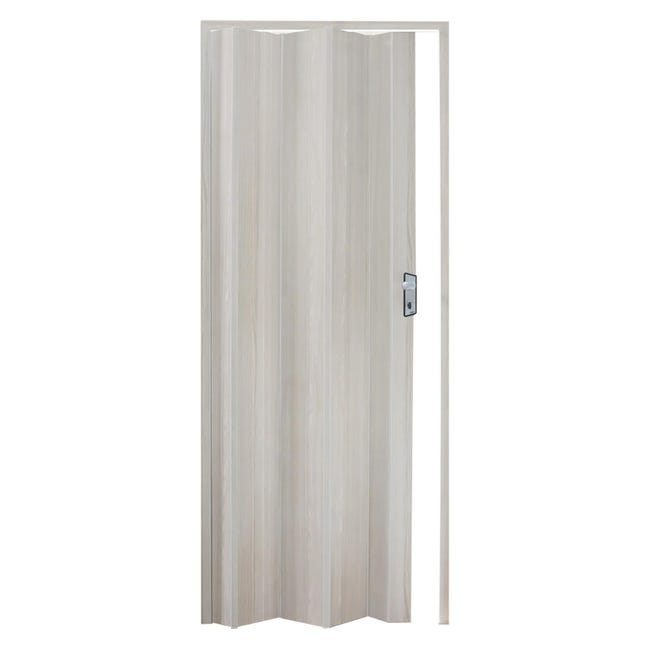 Porta a soffietto Lucky in pvc bianco L 83 x H 214 cm - 1