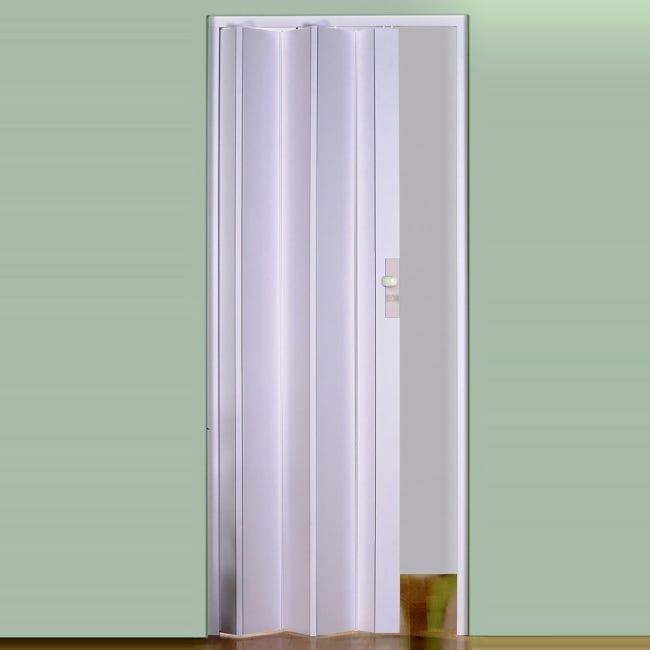 Porta a soffietto Maya in pvc bianco L 83 x H 214 cm - 1