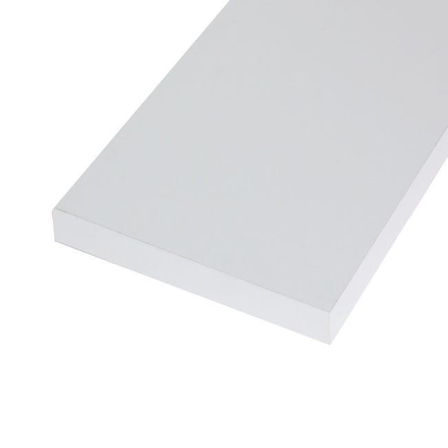 Ripiano melaminico ARTENS 138 x 80 cm Sp 25 mm bianco - 1