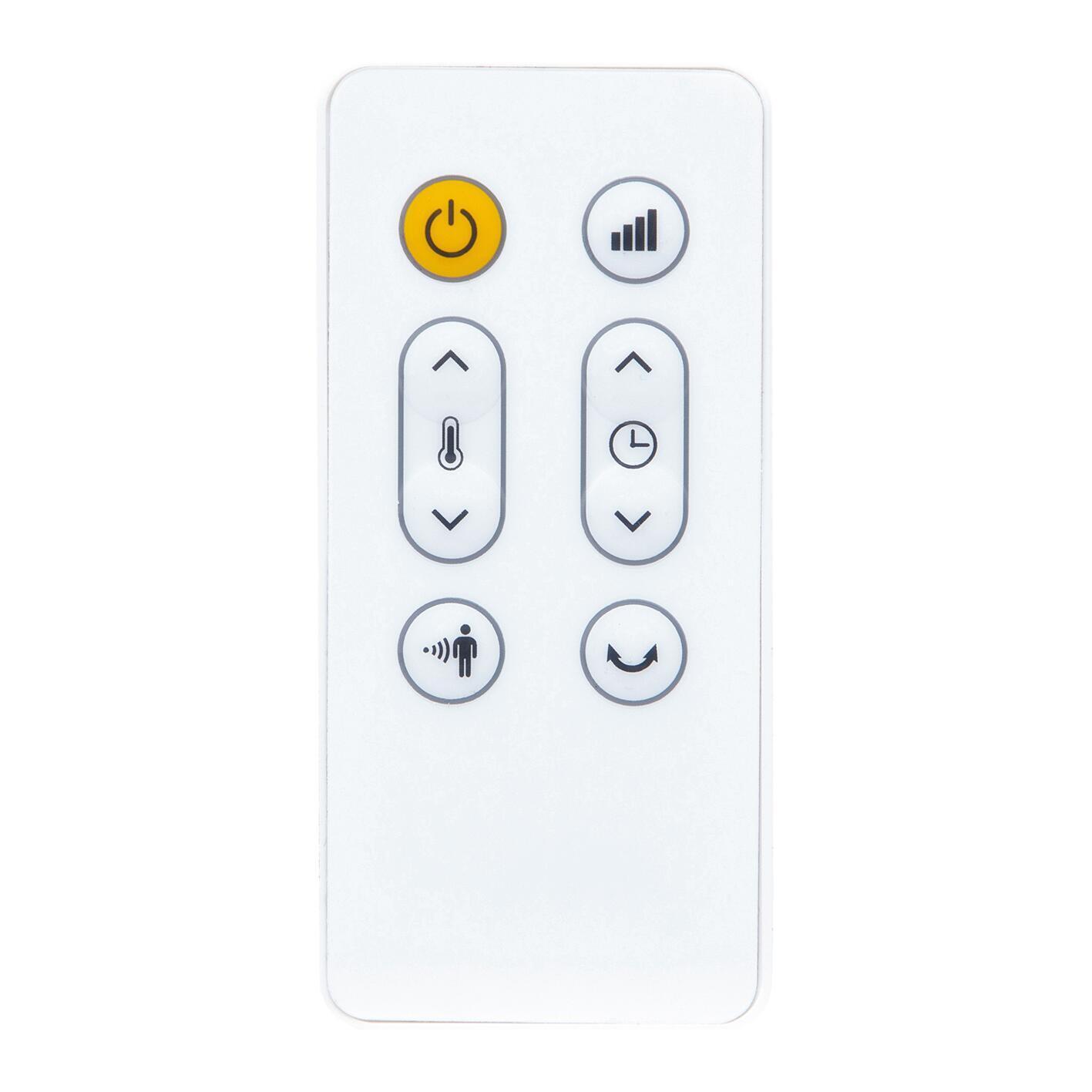 Termoventilatore elettrico EQUATION Presence bianco 2500 W - 7