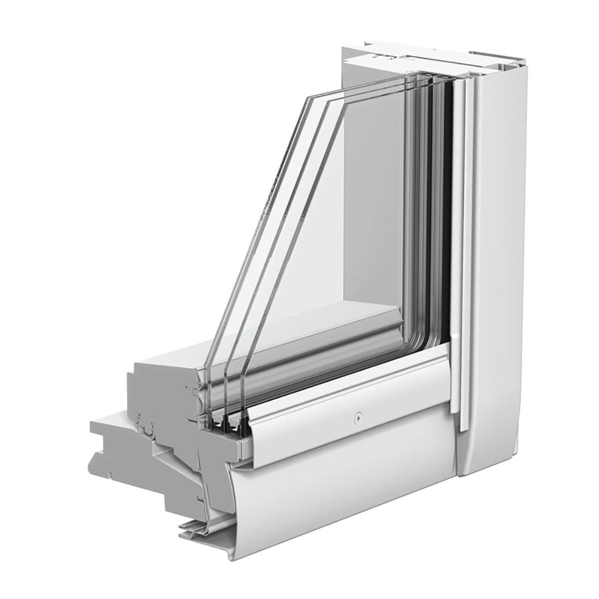 Finestra da tetto (faccia inclinata) VELUX GGL CK04 3068 manuale L 55 x H 98 cm pino - 2
