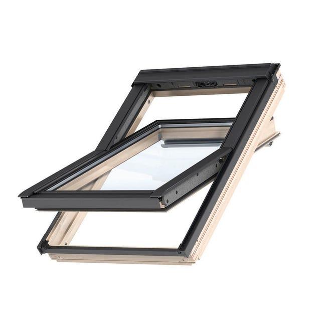 Finestra da tetto (faccia inclinata) VELUX GGL CK04 3068 manuale L 55 x H 98 cm pino - 1