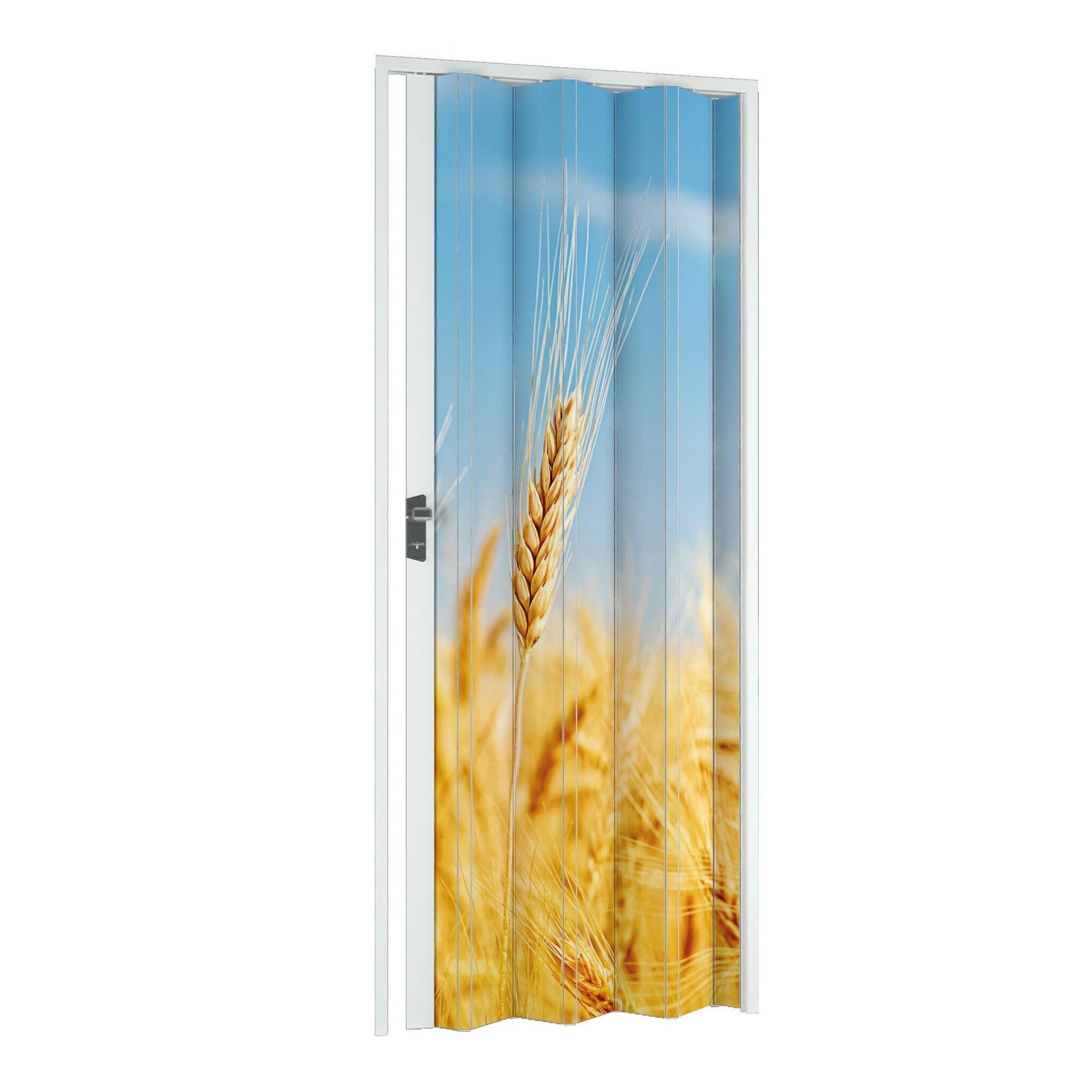Porta a soffietto Grain in pvc multicolore L 102 x H 214 cm
