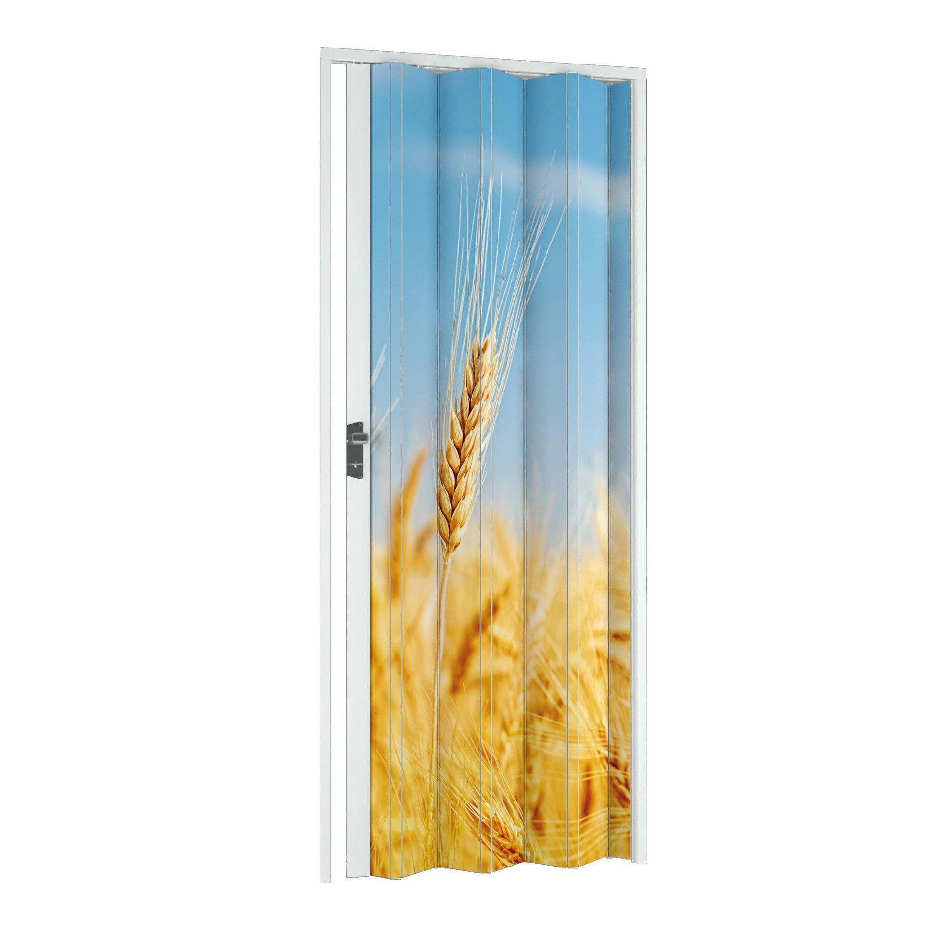 Porta a soffietto Grain in pvc multicolore L 115 x H 214 cm
