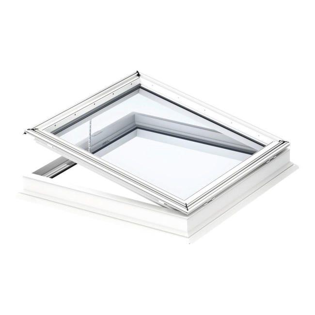Finestra da tetto (faccia piana) VELUX CVP 0073U manuale L 60 x H 90 cm bianco - 1