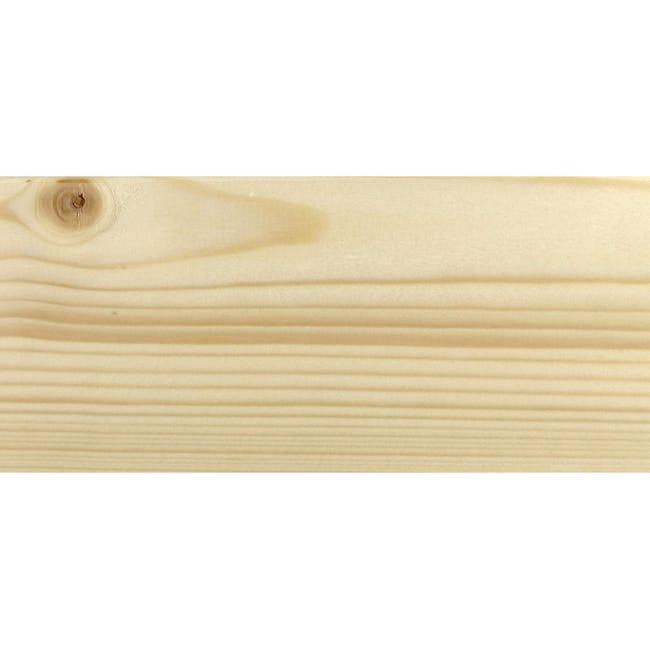 Coprifilo Beethoven in legno legno massello naturale L 2250 x P 10 x H 70 mm - 1