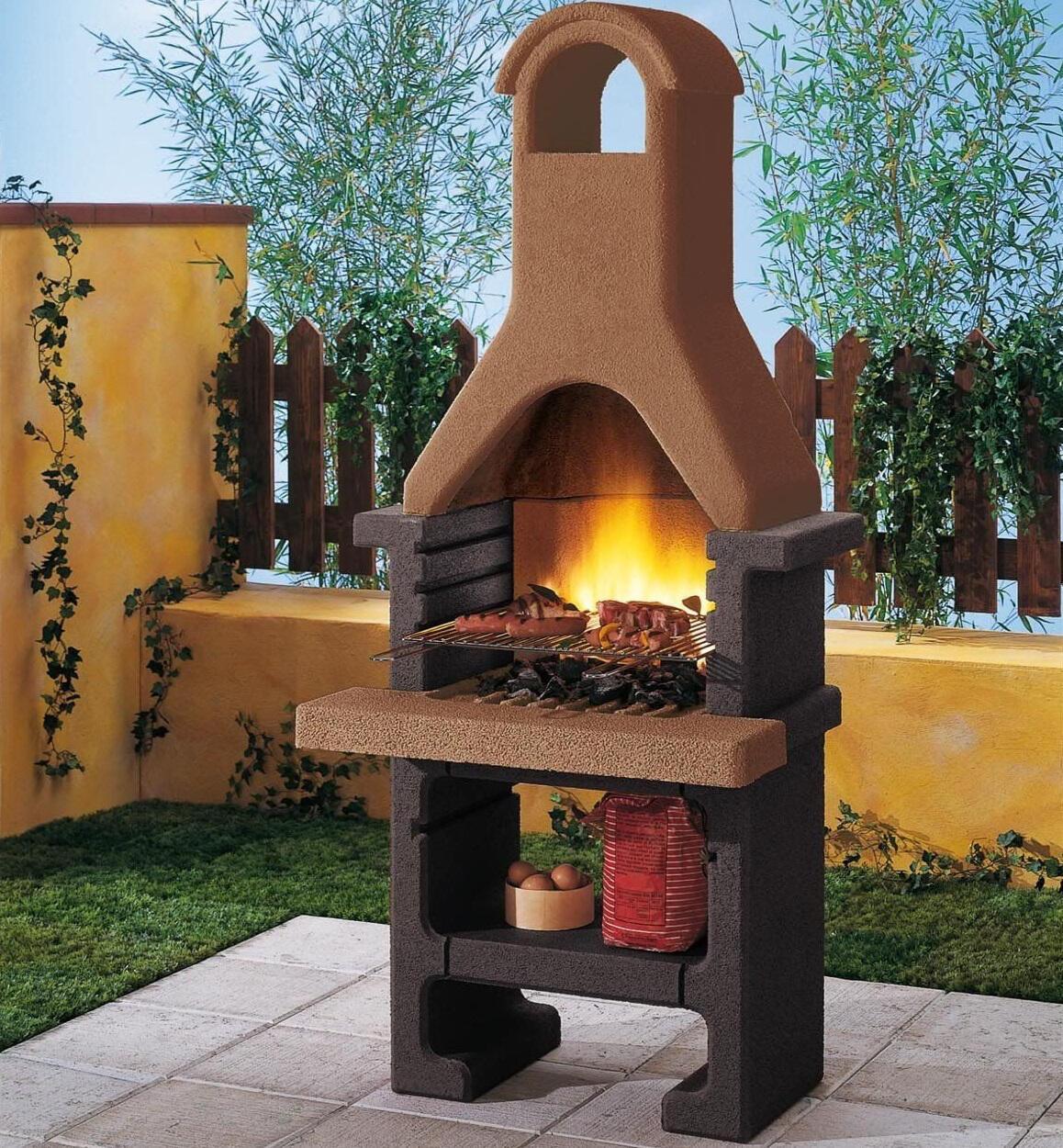 Barbecue a carbonella PALAZZETTI IN GIARDINO Pantelleria 40 cm - 2