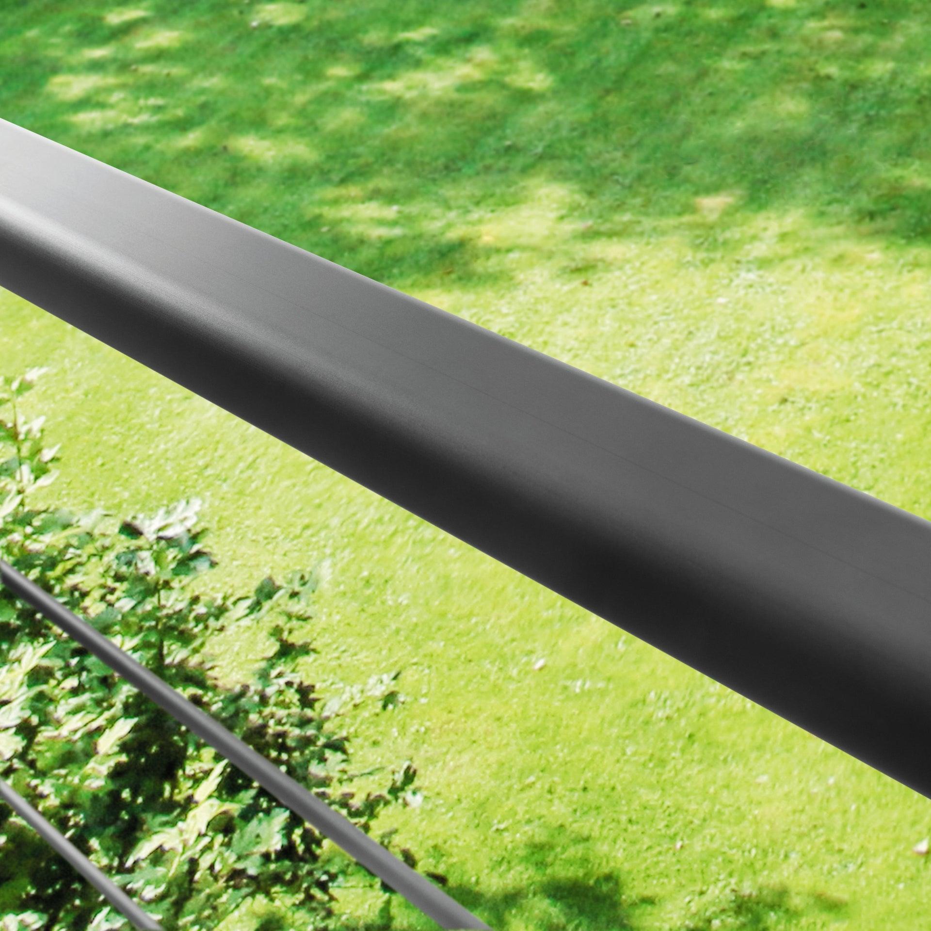 Balaustra ARTENS in alluminio L 200 x H 100 cm nero - 3