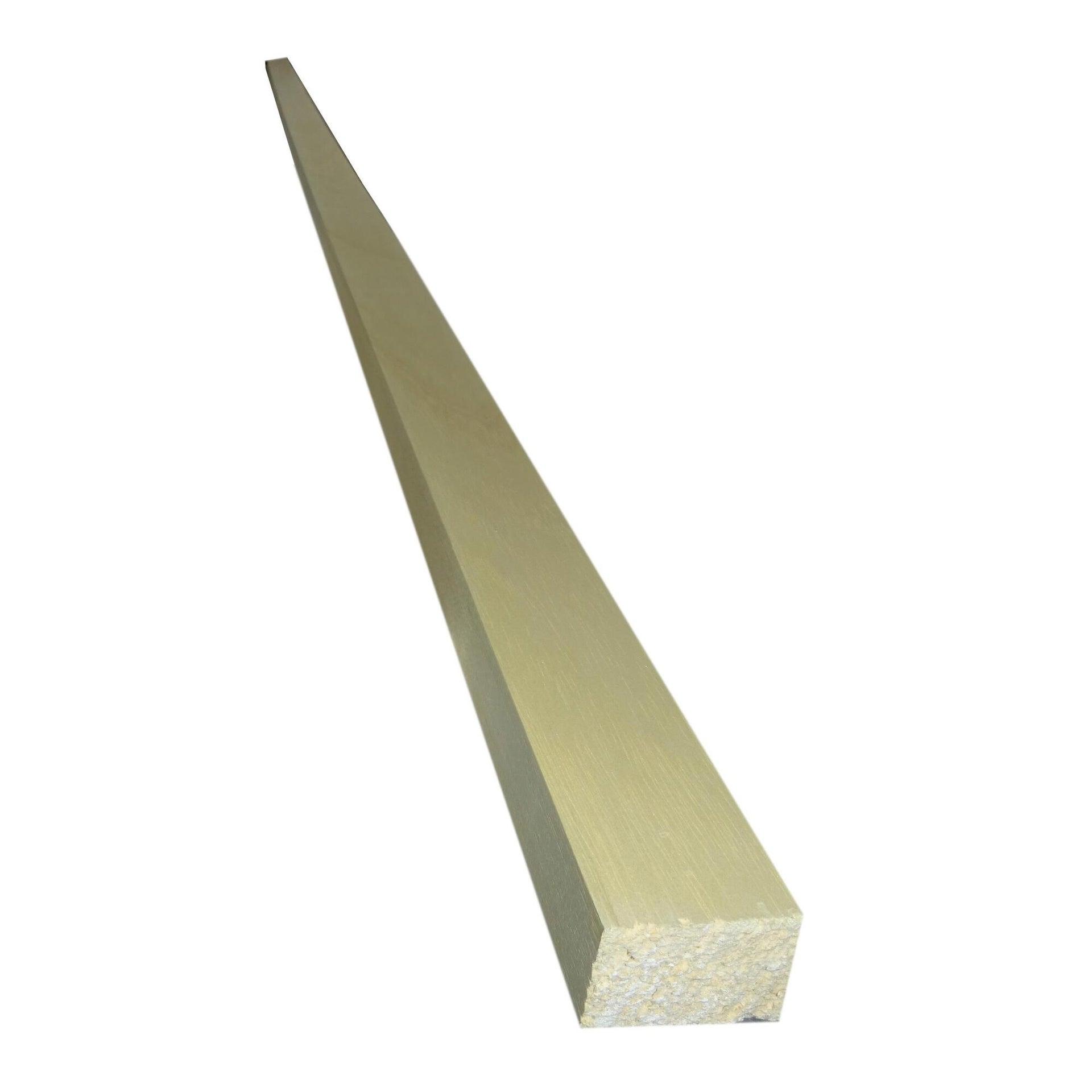 Listello piallato ayous 2.4 m x 50 mm, Sp 30 mm
