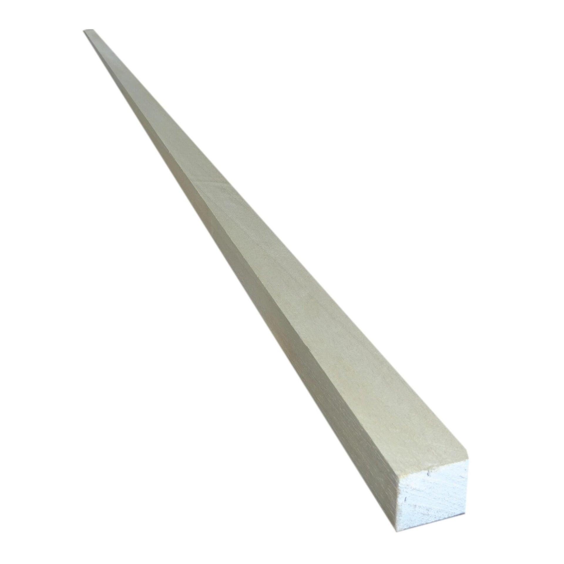 Listello piallato ayous 2.4 m x 30 mm, Sp 20 mm