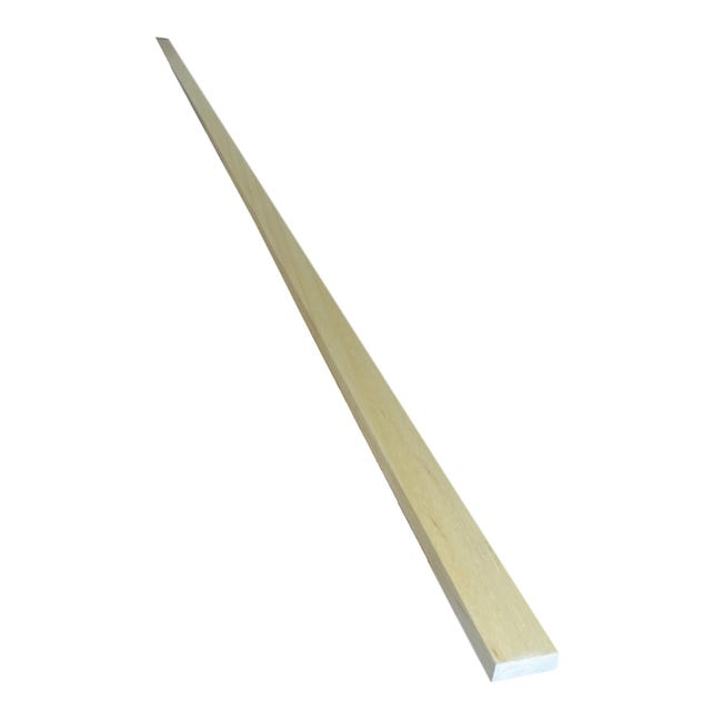 Listello piallato ayous 2.4 m x 30 mm, Sp 10 mm - 1