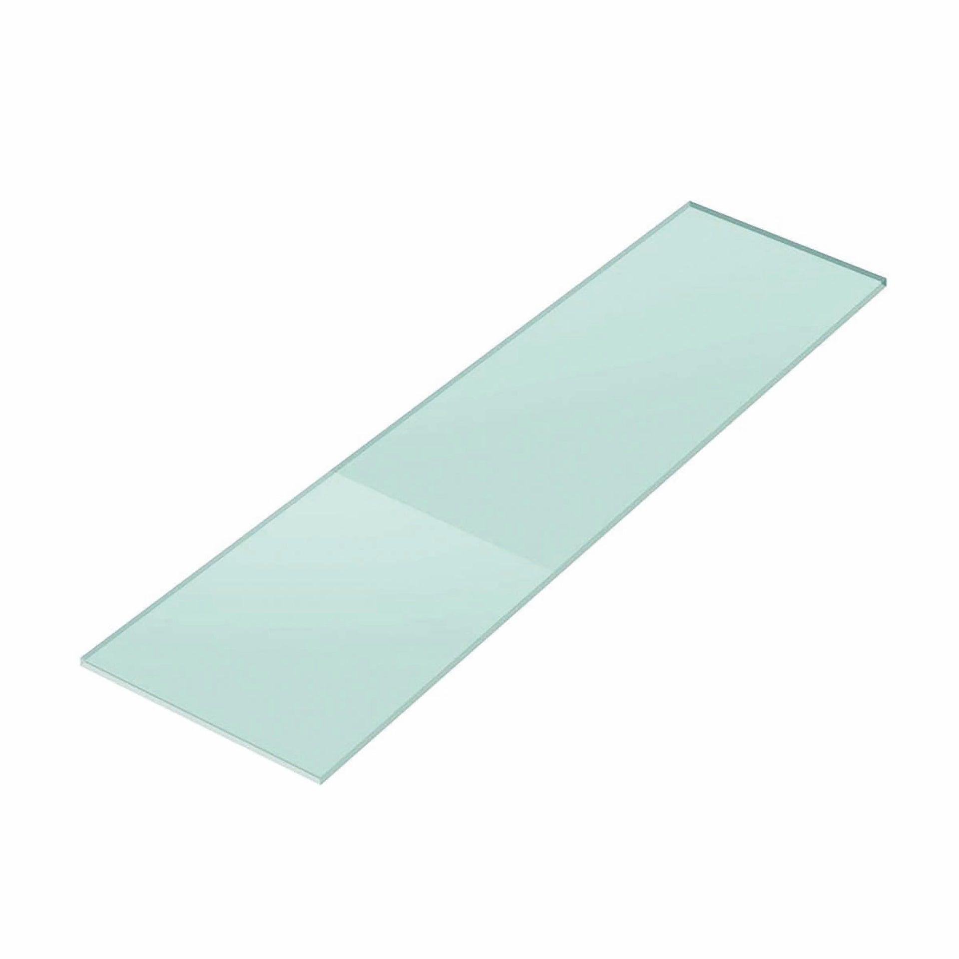 Vetro ripiano trasparente L 30 x H 100 cm, Sp 10 mm
