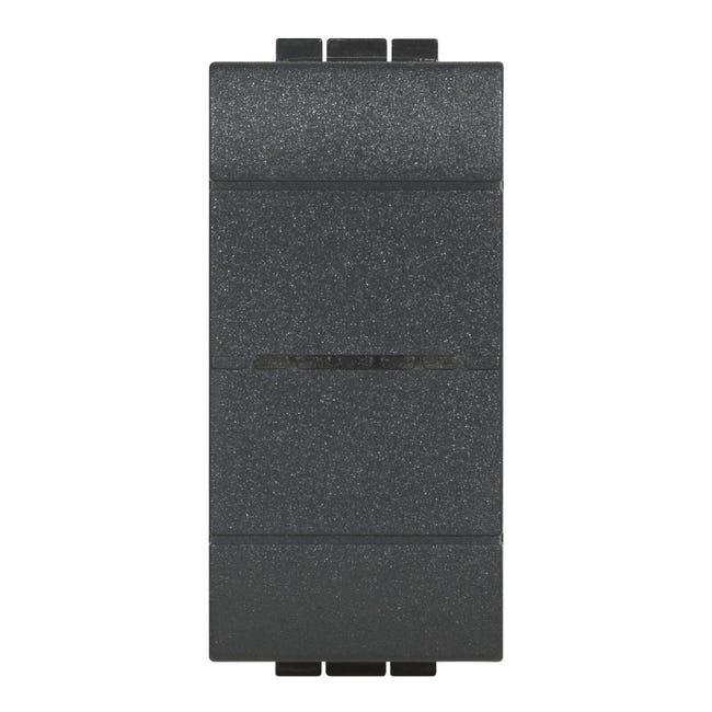 Deviatore Livinglight smart BTICINO nero - 1