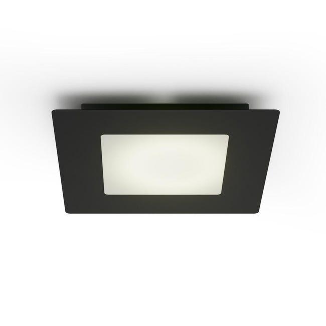 Plafoniera Hunk LED integrato antracite, in metallo, LED luci - 1
