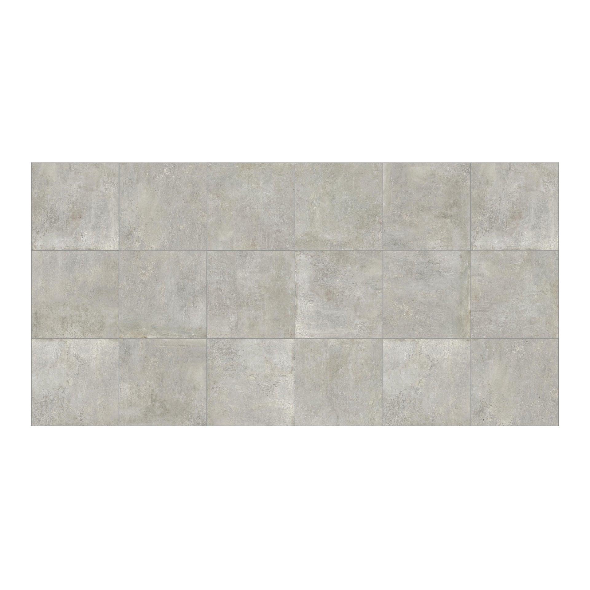 Piastrella City Grey 60 x 60 cm sp. 9.5 mm PEI 4/5 grigio - 8