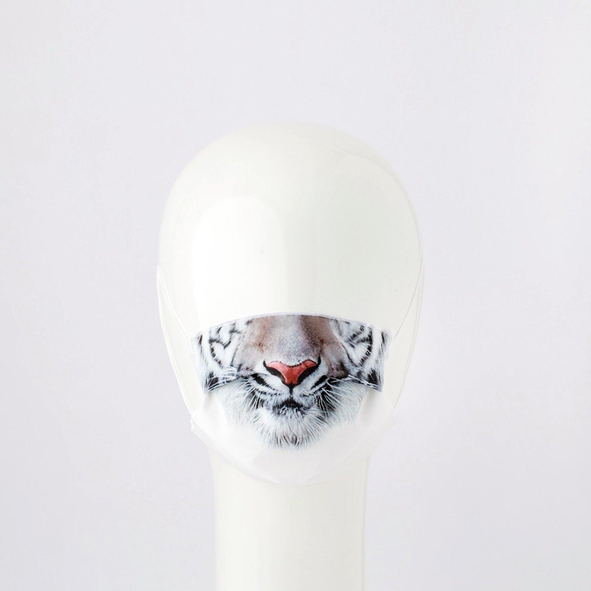 Maschera in tessuto lavabile per utilizzo non sanitario Baby tigre - 1