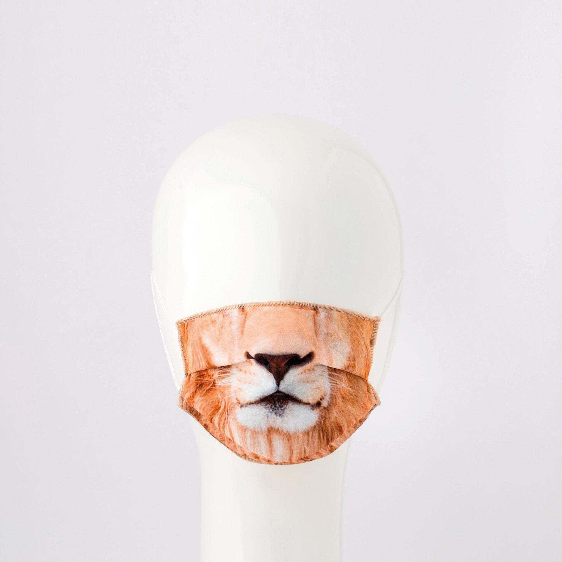 Maschera in tessuto lavabile per utilizzo non sanitario Baby leone - 1